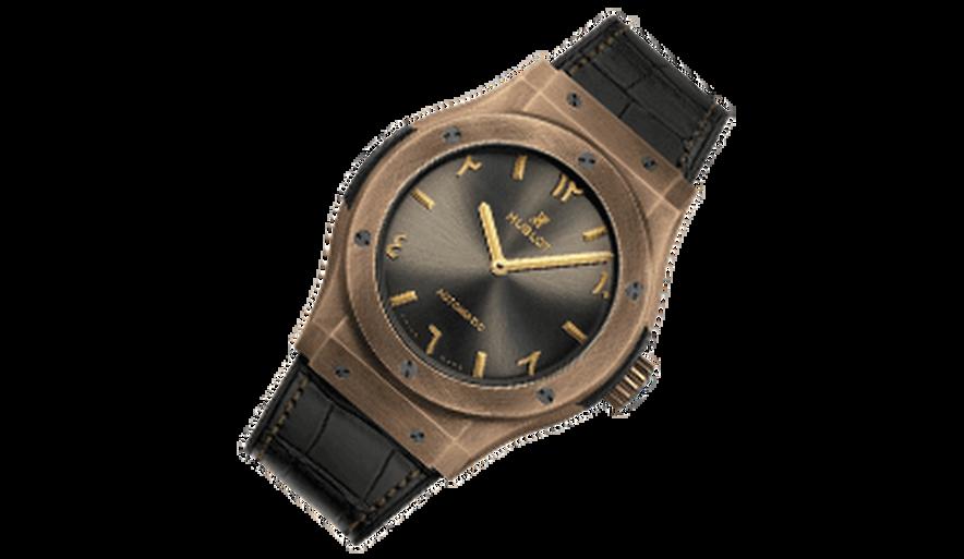 ساعة هوبلو برونز ليميتيد: واحدة من أصل 100